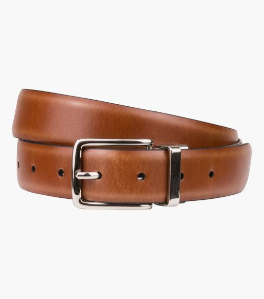 Segal Reversible Leather Belt