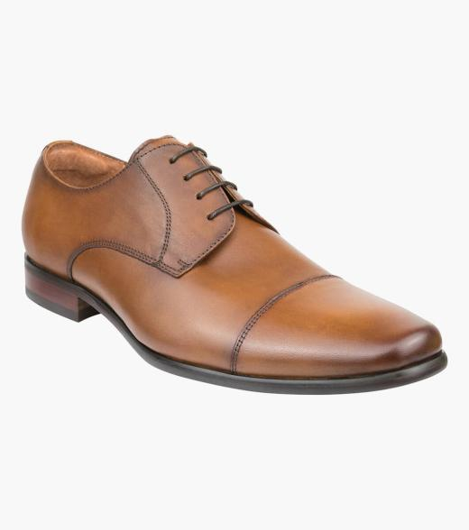 Cross Cap Toe Derby