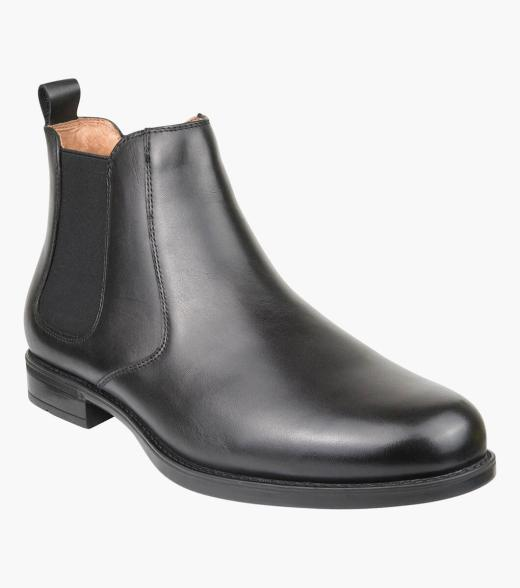 Glendale Plain Toe Chelsea Boot