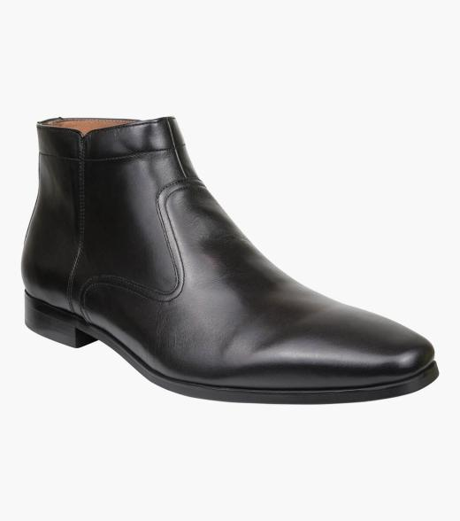 Ballad Plain Toe Side Zip Boot