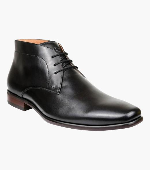Castell Plain Toe Chukka Boot