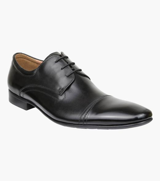 Cage Cap Toe Derby