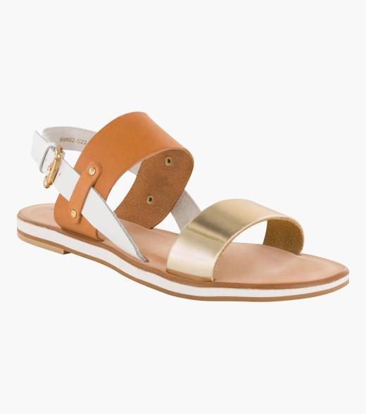 Willow Open Toe Flat
