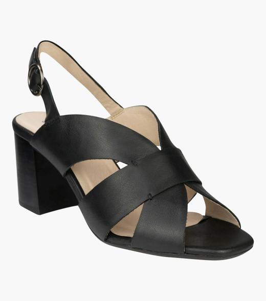 Georgina Open Toe Block Heel