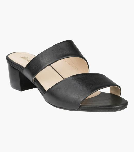 Gisele Open Toe Block Heel