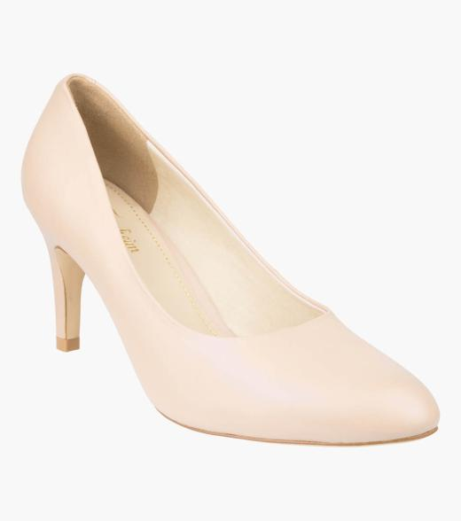 May Almond Toe Pump Heel