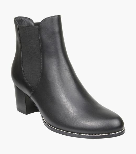 Isabella Plain Toe Chelsea Boot