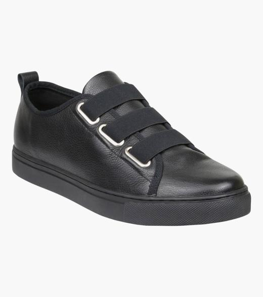 Piper Plain Toe Elastic Lace Up