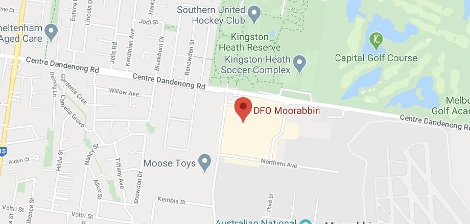 shoe shops dfo moorabbin