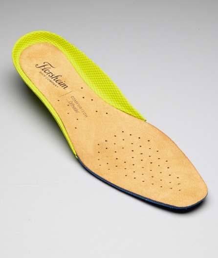 Fully cushioned, removable Comfortech footbed offers all-day support.