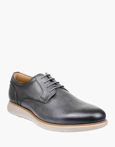 Fuel PLAIN VAMP DERBY in DARK GREY for $179.95