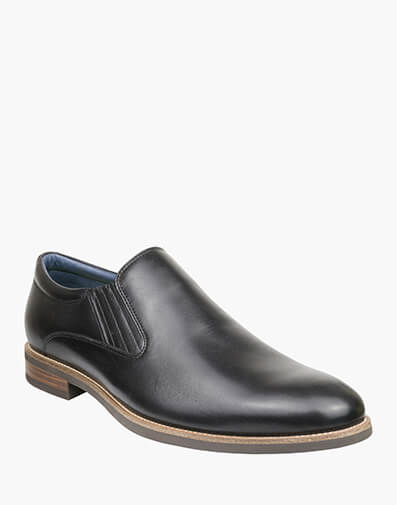 Accas PLAIN TOE SLIP ON in BLACK for $149.00
