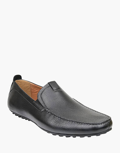 Corona MOC TOE VENETIAN DRIVER in BLACK for $129.00