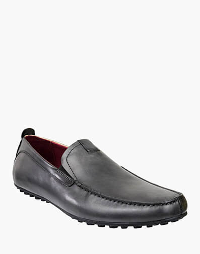 Corona MOC TOE VENETIAN DRIVER in DARK GREY for $169.95