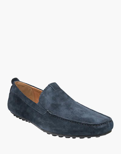 Corona MOC TOE VENETIAN DRIVER in DARK NAVY for $129.00