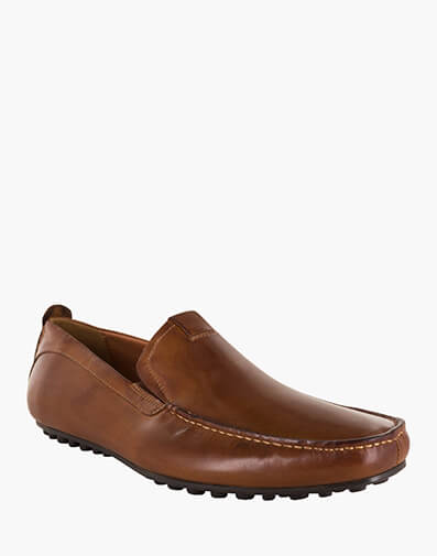 Corona MOC TOE VENETIAN DRIVER in M.BRN/WAX for $129.00