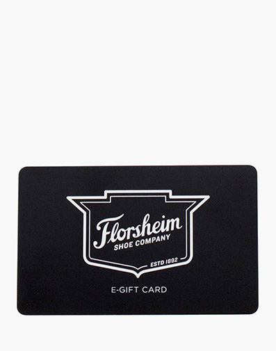 Florsheim E-Gift Card $50  in  for $50.00